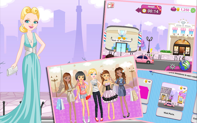Shopaholic World: Dress Up- screenshot