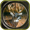 Deer hunter sniper 3D icon