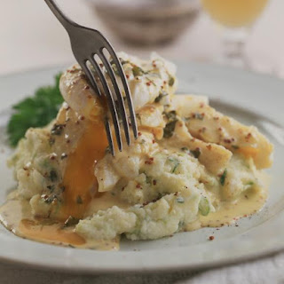 Smoked Haddock with Mustard Sauce