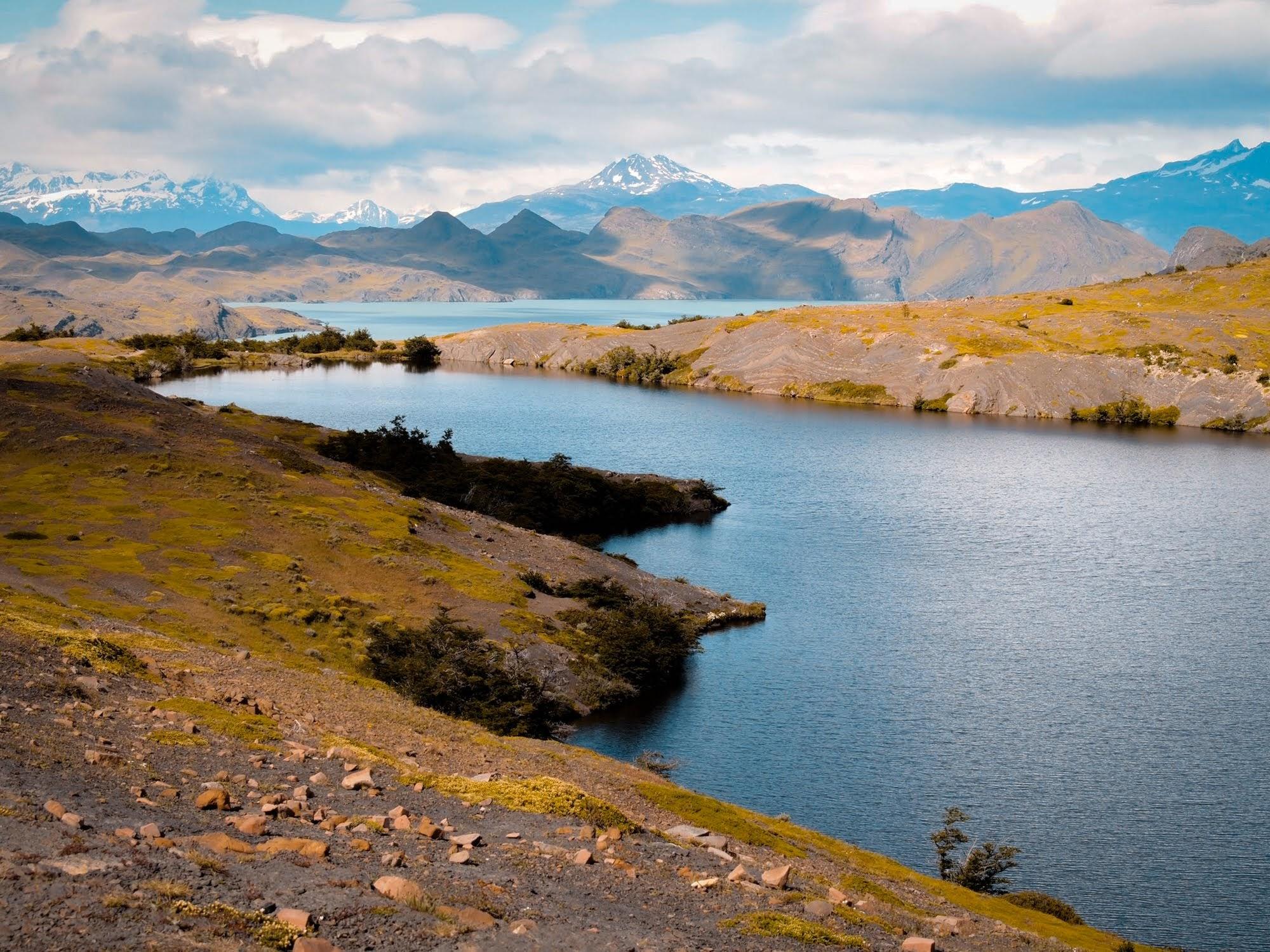 Approaching Lago Nordernskjold