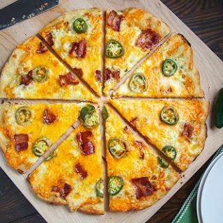 Jalapeno Popper Pizza.
