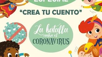 Cartel del Concurso Especial Crea tu Cuento de editorial GEU.