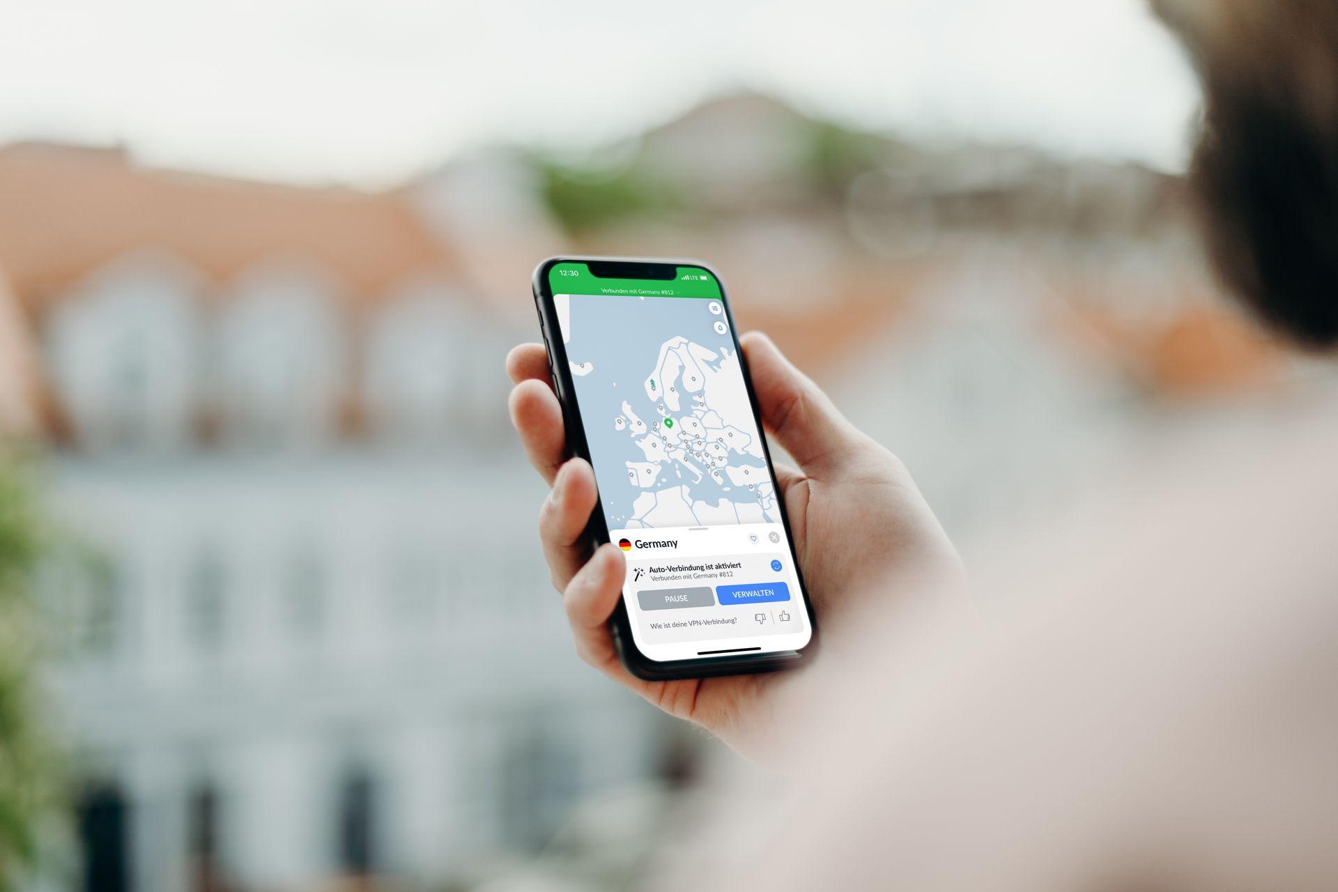 NORDVPN ist auch als App für das iPhone erhältlich - Bild