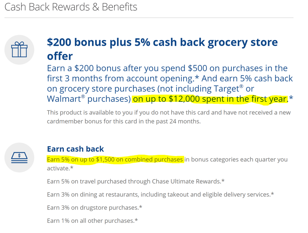 example of credit card rewards