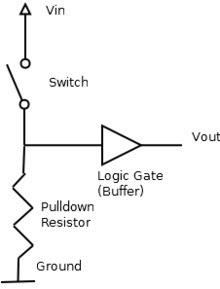 KPIC: Arduino - 上拉電阻和下拉電阻