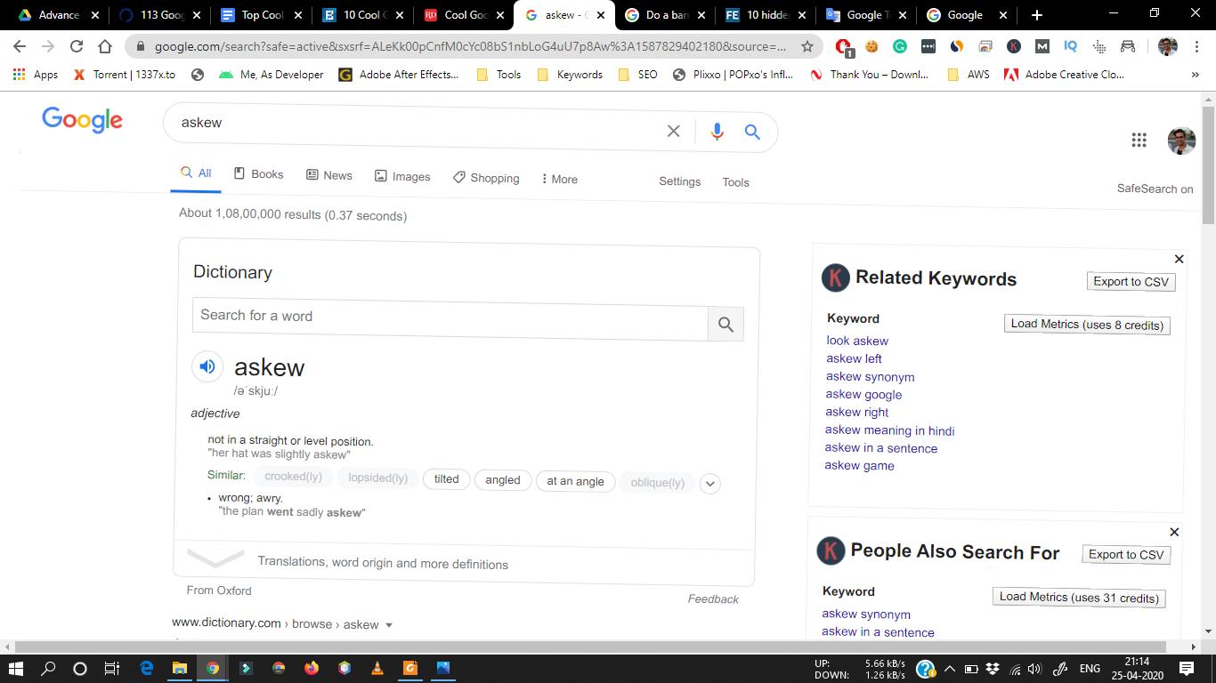 google askew