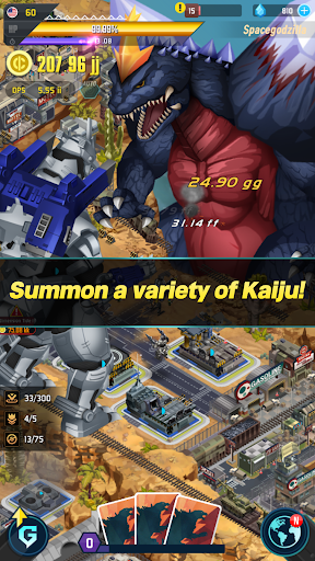 Godzilla Defense Force 2.2.5 APK MOD screenshots 2