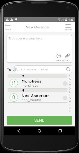 Clear Messenger 3.0 screenshots 1