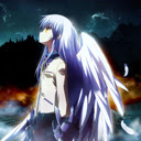 Angel Beats: Winged Kanade/Angel  1280x720