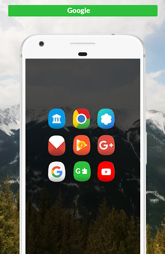 Icon Pack - Oval app for Android screenshot