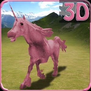 Unicorn Simulator Kids Race 3D for PC and MAC