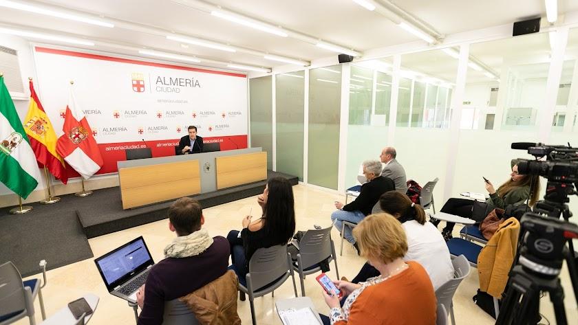 Comparecencia de prensa de Miguel Ángel Castellón