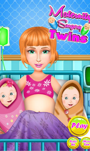 Maternity Twin Surgery Doctor 2.6 screenshots 5