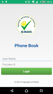PhoneBook - náhled