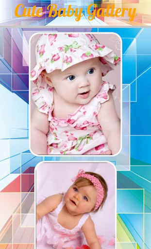 Cute Baby Gallery 1.1 screenshots 4