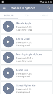 Mobiles Ringtones Download All Mp3 Ringtones Free- screenshot thumbnail