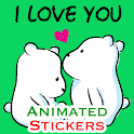 WaStickerApps Animated 💕 Love Animated Stickers icon
