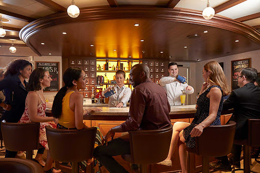 carnival-Alchemy-Bar.jpg - Head to the Alchemy Bar on your Carnival cruise, featuring your favorite drinks as well as new and innovative cocktails.