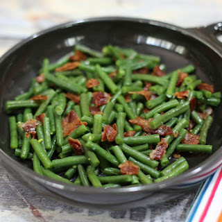 Easy Green Beans and Bacon.