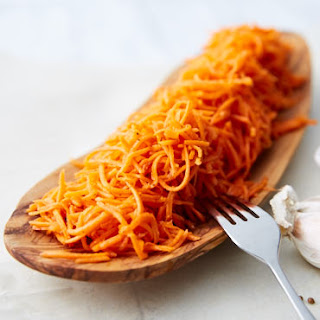 Marinated Shredded Carrot Salad.