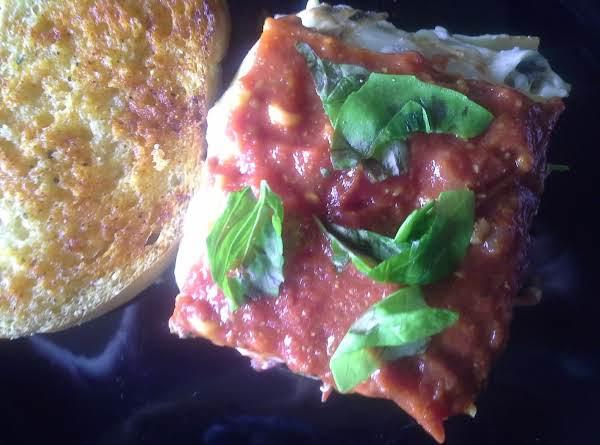 Mm's Florentinga (florentine Style Lasagna) Recipe