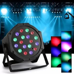 Reflector 36 LED RGB cu jocuri de lumini