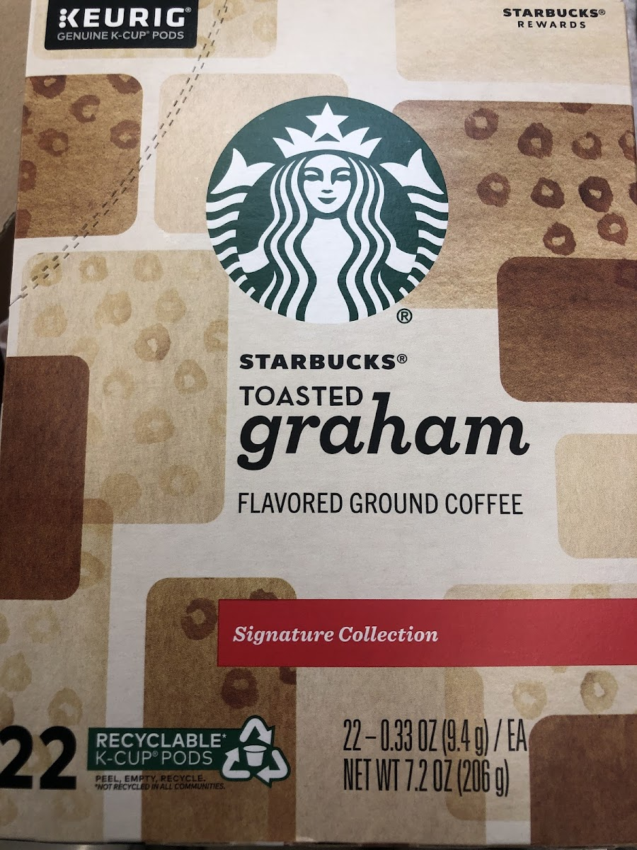 Toasted Graham Flavored Ground Coffee
