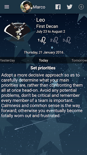 My Horoscope screenshot 1