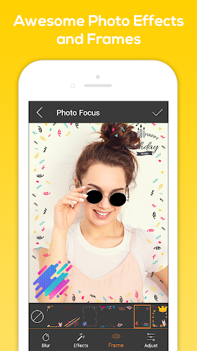 Photo Focus Photo Editor 1.5 screenshots 2