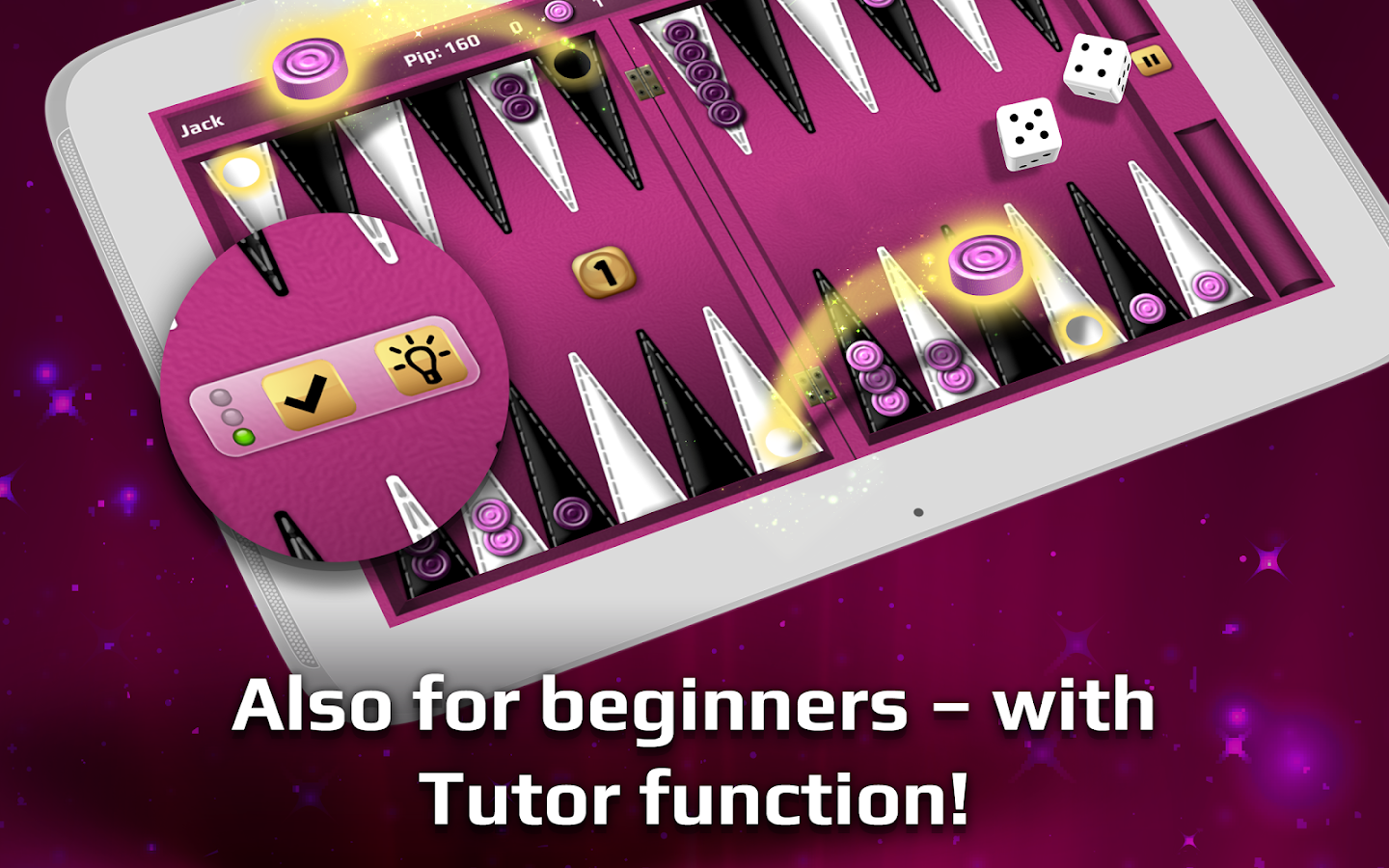 Backgammon Gold- screenshot