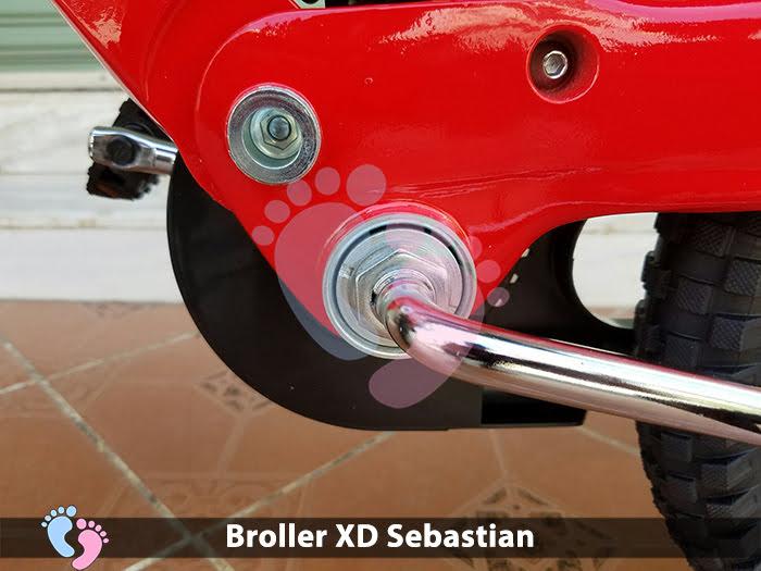 Xe đạp cho bé Broller XD Sebastian 9