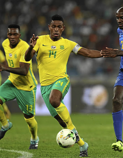 Disappointed: Bafana captain Thulani Hlatshwayo says it still irks that he and his teammates had to sit at home instead of playing at the 2018 World Cup in Russia. Picture: ANESH DEBIKY/GALLO IMAGES