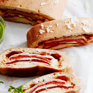 Three Cheese Stromboli