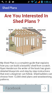 DIY Shed Plans To Build Your Own Shed
