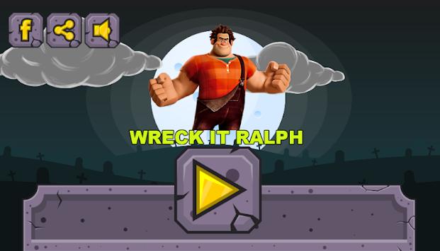 Wreck it Ralph Vs Zombies apk screenshot