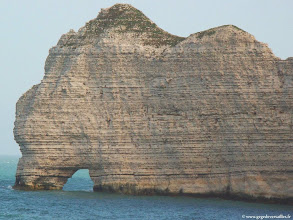 Photo: #015-Etretat, la Porte d'Amont.