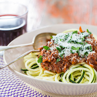 Hemsley & Hemsley Courgetti and Ragu