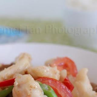 Monkfish In Salted Soya Bean Sauce