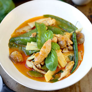 Easy Thai Red Curry.