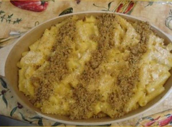 Three Cheese Pasta Bake Recipe