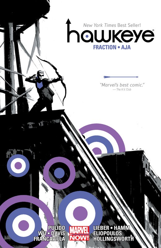 Hawkeye by Matt Fraction and David Aja (2015)