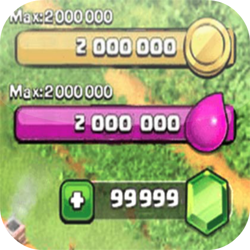 Gems Sheet for Clash of Clans