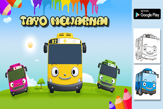 Download Tayo Mewarnai Apk Latest Version Game For Android Devices
