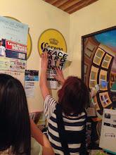 Photo: ポスター貼ってくださったお店 ウエンブリークラウン