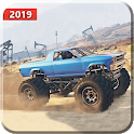 Drive Hillock  Offroad Monster Truck  3D 2019 icon