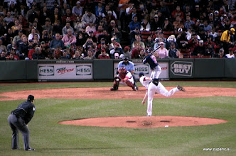 Photo: Boston Red Sox - Cleveland Indians 11:6