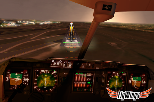 Flight Simulator 2015 Flywings - Paris and France apklade screenshots 2