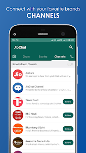 App JioChat: HD Video Call APK for Windows Phone