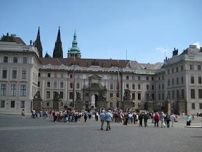 Photo: Entrance to Prague Castle.