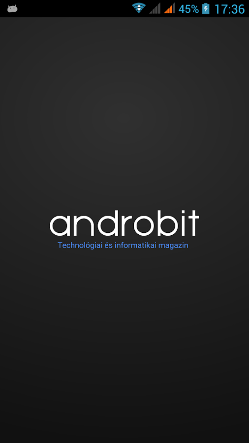 Androbit- screenshot